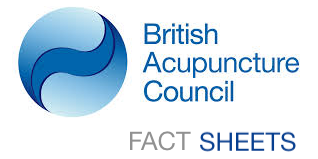 Acupuncture Fact Sheets